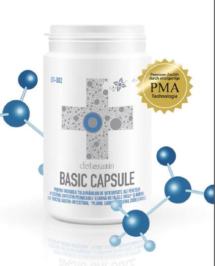 Detoxamin Basic 200 Capsule | Zeolit Activat Austria